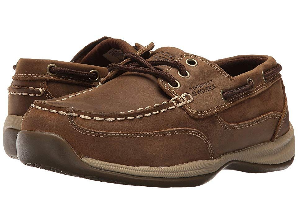 fa9503edf6f Rockport Works Sailing Club (Brown) Women's Work Boots. For a solid ...