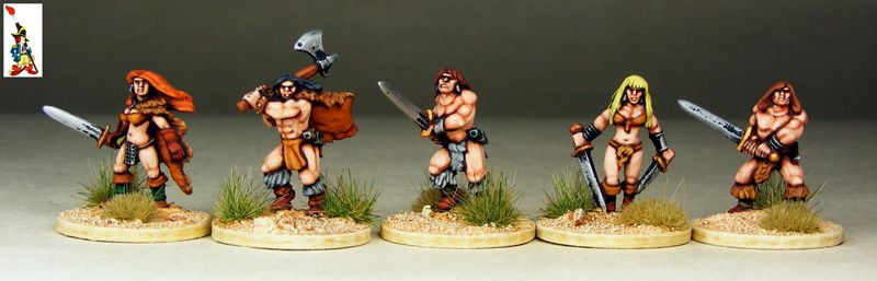 Barbarians (15mm) by Bugsda | 15mm Scale Fantasy Gaming | Barbarian