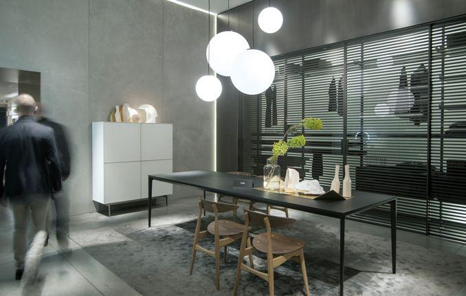 Tavolo Rimadesio ~ Rimadesio porte scorrevoli in vetro e alluminio librerie cabine