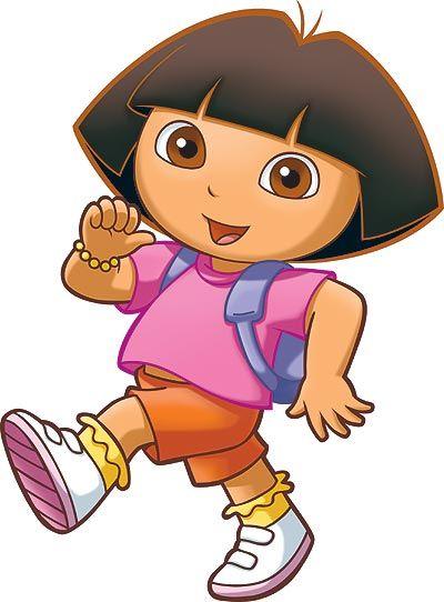 Dora La Exploradora Personajes Animados De Disney Moldes De Letras Infantiles Dora La Exploradora