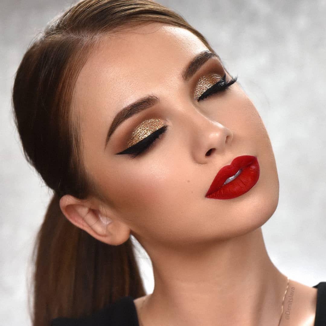 Brown Eyes Makeup 2020: Bright and Contrasting Ideas (+29 photos) -   13 evening makeup 2018 ideas
