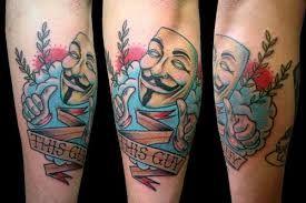 V For Vendetta Tattoo Google Zoeken V For Vendetta Tattoo Vendetta Tattoo Tattoos