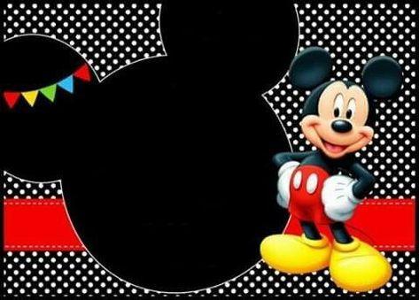 Pin De Cris En Mickey Mouse Cumple De Mickey Mouse