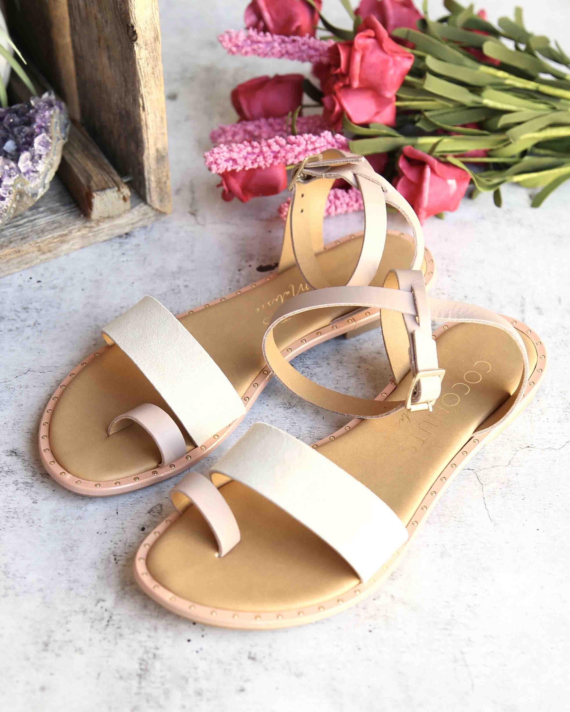 da6992c697b66 coconuts by matisse - sundown wrap leather flat sandal - pink – shophearts