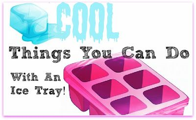 Craft your own frozen coffee, frozen cocktails, and other cool things you can do with an ice tray, by Barbie's Beauty Bits. #DIY, #Coffee,#BBits