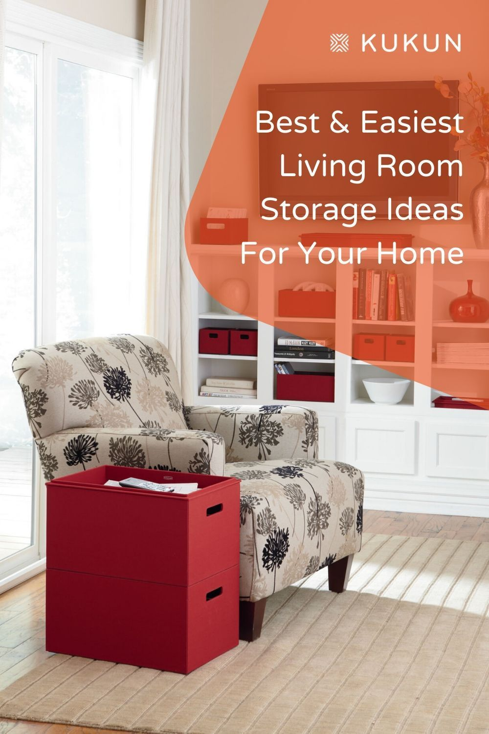 7 Clever Living Room Storage Ideas For Your Home In 2020