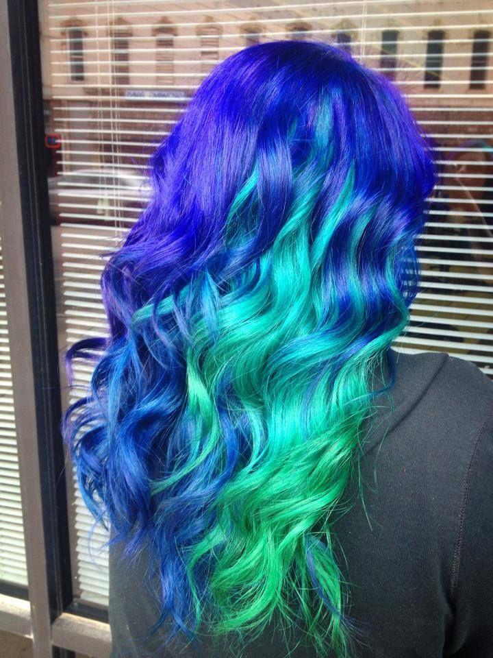 Jackie's mermaid hair