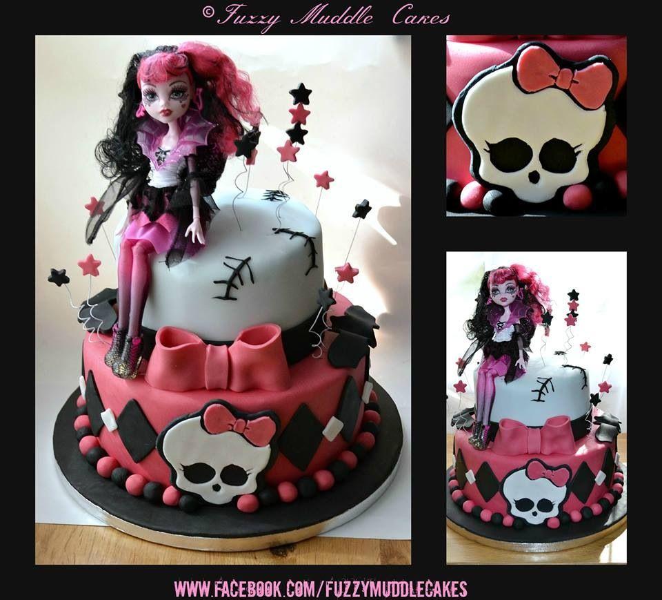 Monster High cake (avec images)   Gâteau surprise, Gateau ...