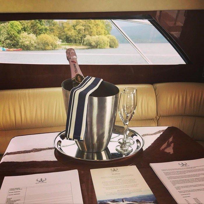 Beau Jangles Yacht, Loch Lomond.  16 of the best wedding venues around Loch Lomond 2019 - Scottish Wedding Directory #lochlomond