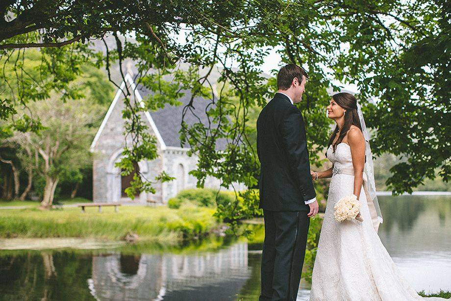 Elegant, Romantic And Intimate Real Irish Lakeside Wedding