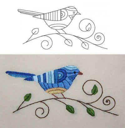 Patrones para bordar | Patrones | Pinterest | Embroidery, Embroidery ...
