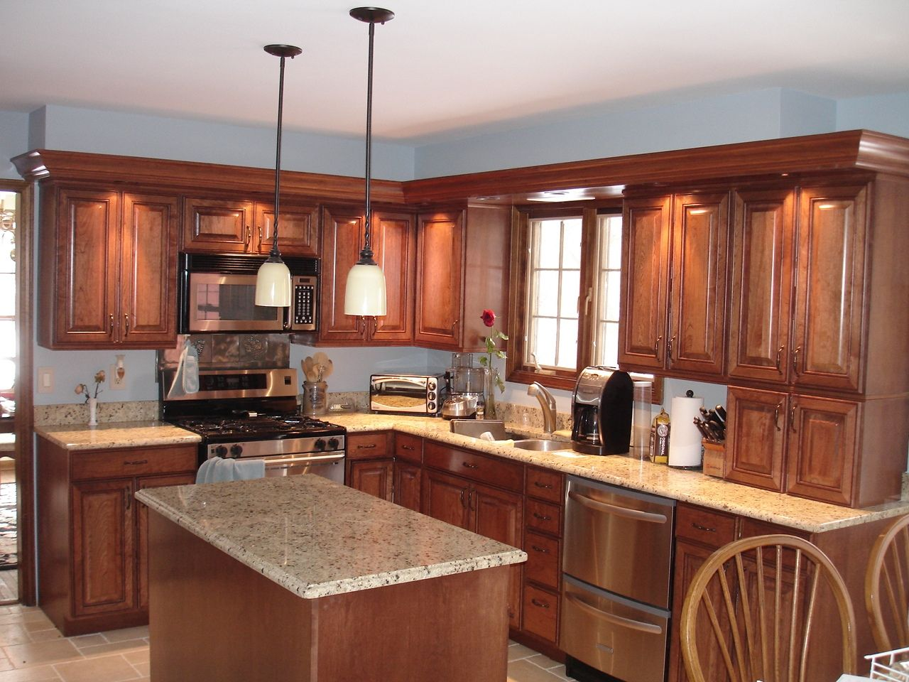 Hand Made Kitchen Remodel By Customcraft
