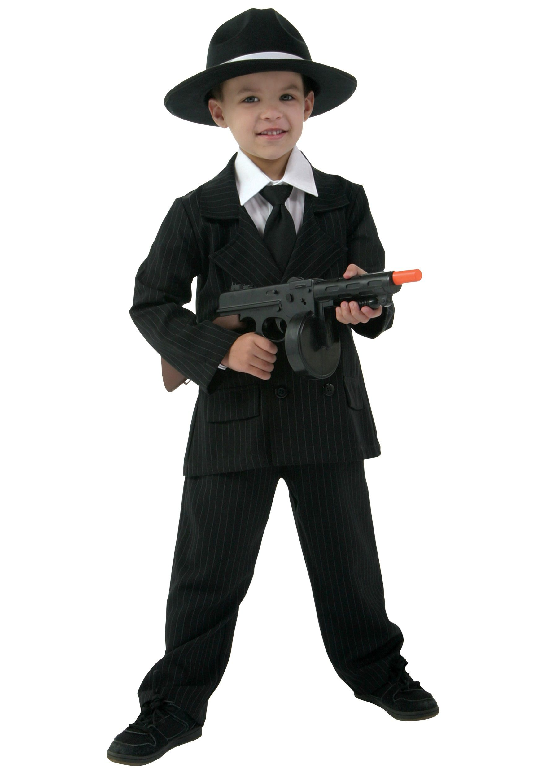 Child Double Breasted Gangster Suit Costume