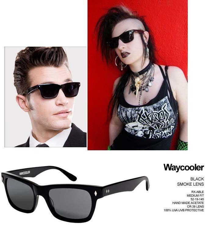 ae30f4da486b Waycooler Sunglasses by Tres Noir- BLACK | Tres Noir Sunglasses ...