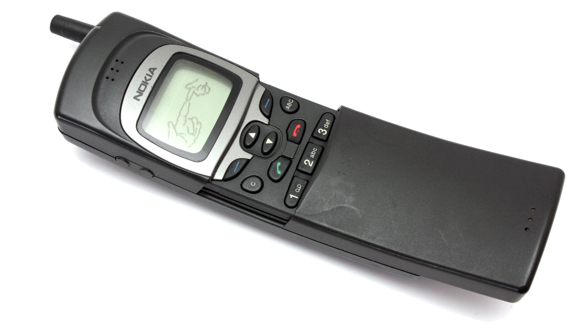 The Nokia 8110 8110i In This Pic Aka Banana Phone Or Matrix 9300 Service Manual Released 1996 It Was Among First Sliders Ever And Had A Wicked