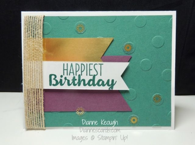 Birthday Card For A Guy Made With Cool Treats Stamp Set Features