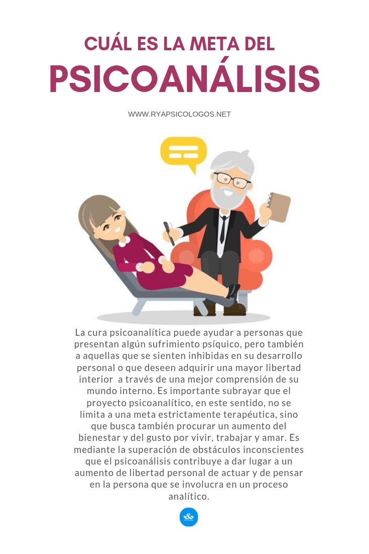 Cual Es La Meta Del Psicoanalisis Terapia Psicoanalitica Psicoanalisis Psicologia Clinica