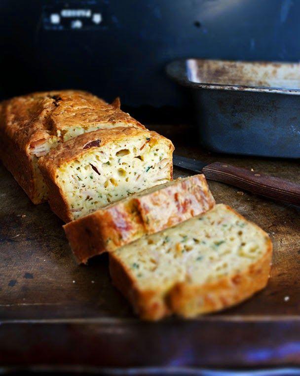 mookies: Αλμυρό Κέικ με Κολοκυθάκια - Savory Zucchini Bread