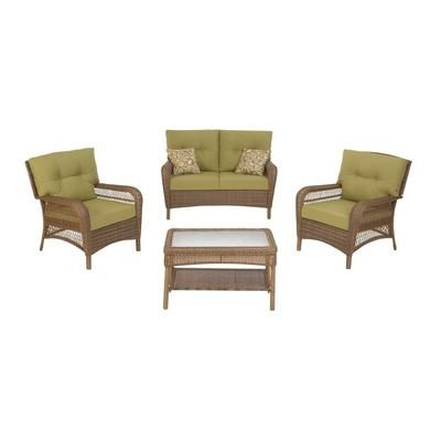 Martha Stewart Living Charlottetown 4pc Wicker Resin Set 799 At