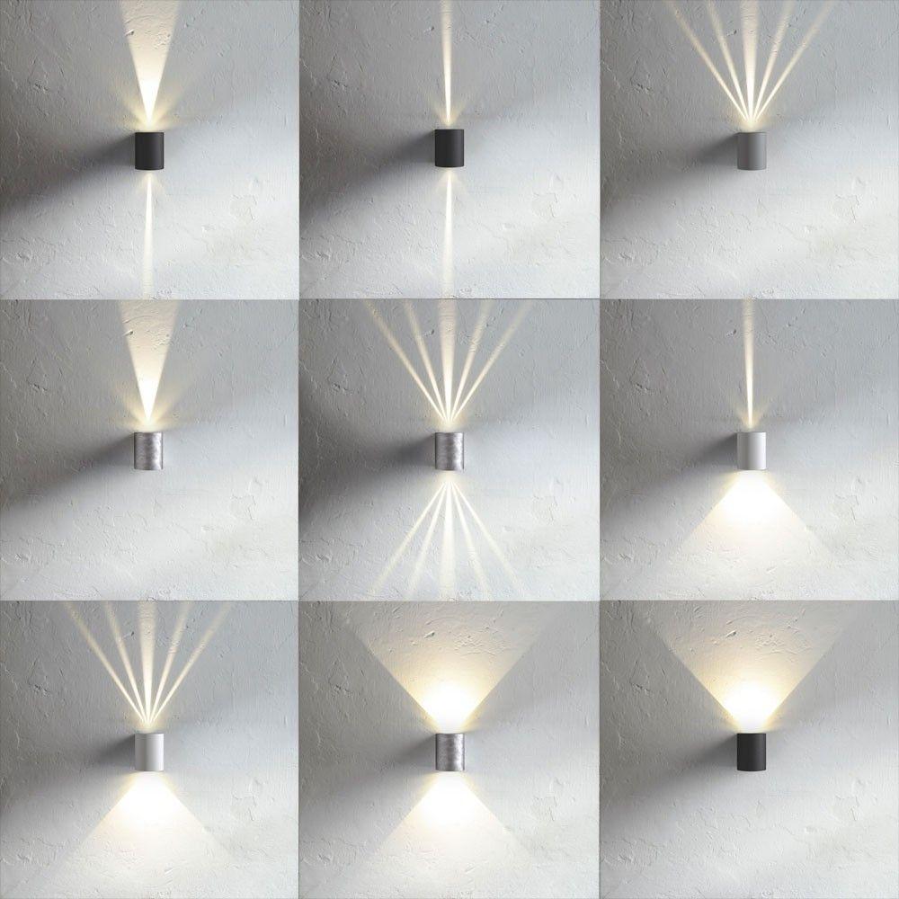Baleno LED-Wandleuchte für Aussen und Innen / Weiss | Beleuchtung ...