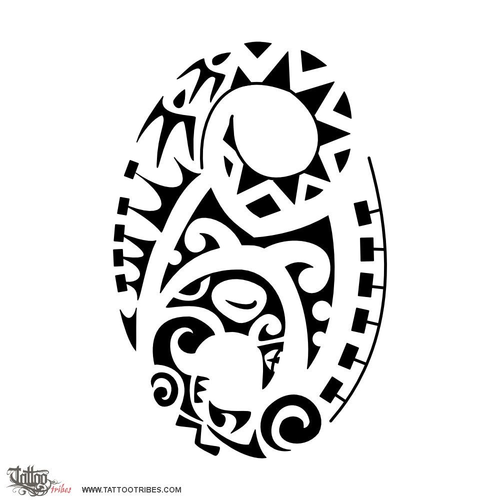 Cancer cycling michele requested a polynesian styled design of tattoo tribes tattoo of cancer cycling tattoozodiacsign cancer lettering tiki tattoo royaty free tribal tattoos with meaning biocorpaavc Gallery