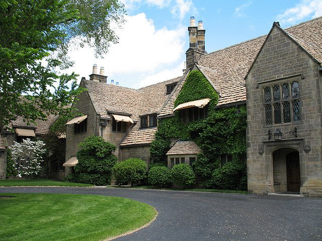Edsel And Eleanor Ford House Grosse Pointe Michigan Architecture American Mansions House Exterior