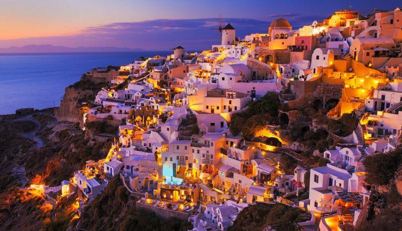 جزيرة سانتوريني اليونان Santorini Greece Earth Pictures Beautiful Islands