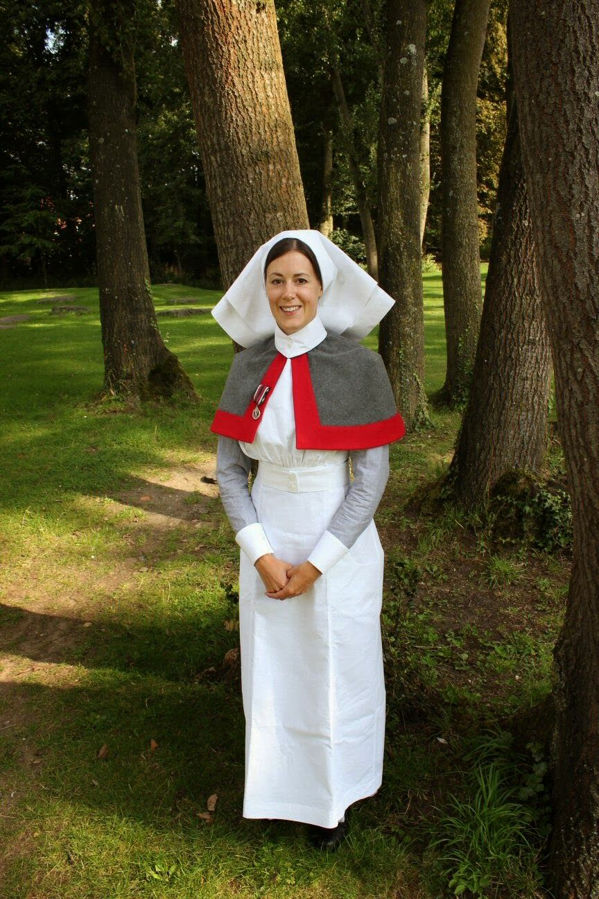 Ww1 Qaimns Reserve Nurse Uniform Professional Military