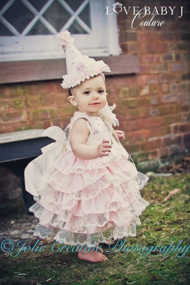 A Mid Winters Kiss For Babies...Vintage With A Touch Of Love Baby J - $192.00 :: Love Baby J Boutique - Welcome to Love Baby J Couture - Bou...