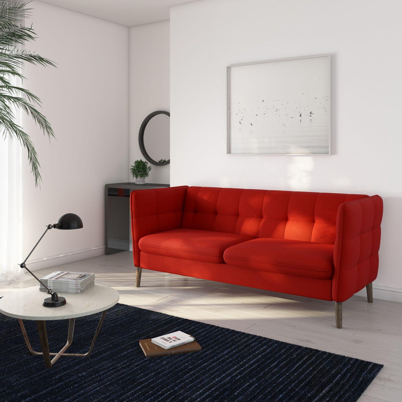 Red Retro Sofa Retro Sofa Colorful Furniture Furniture