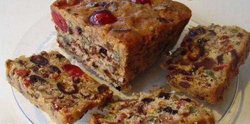 Рождественский пирог с орехами и сухофруктами по-английски ...