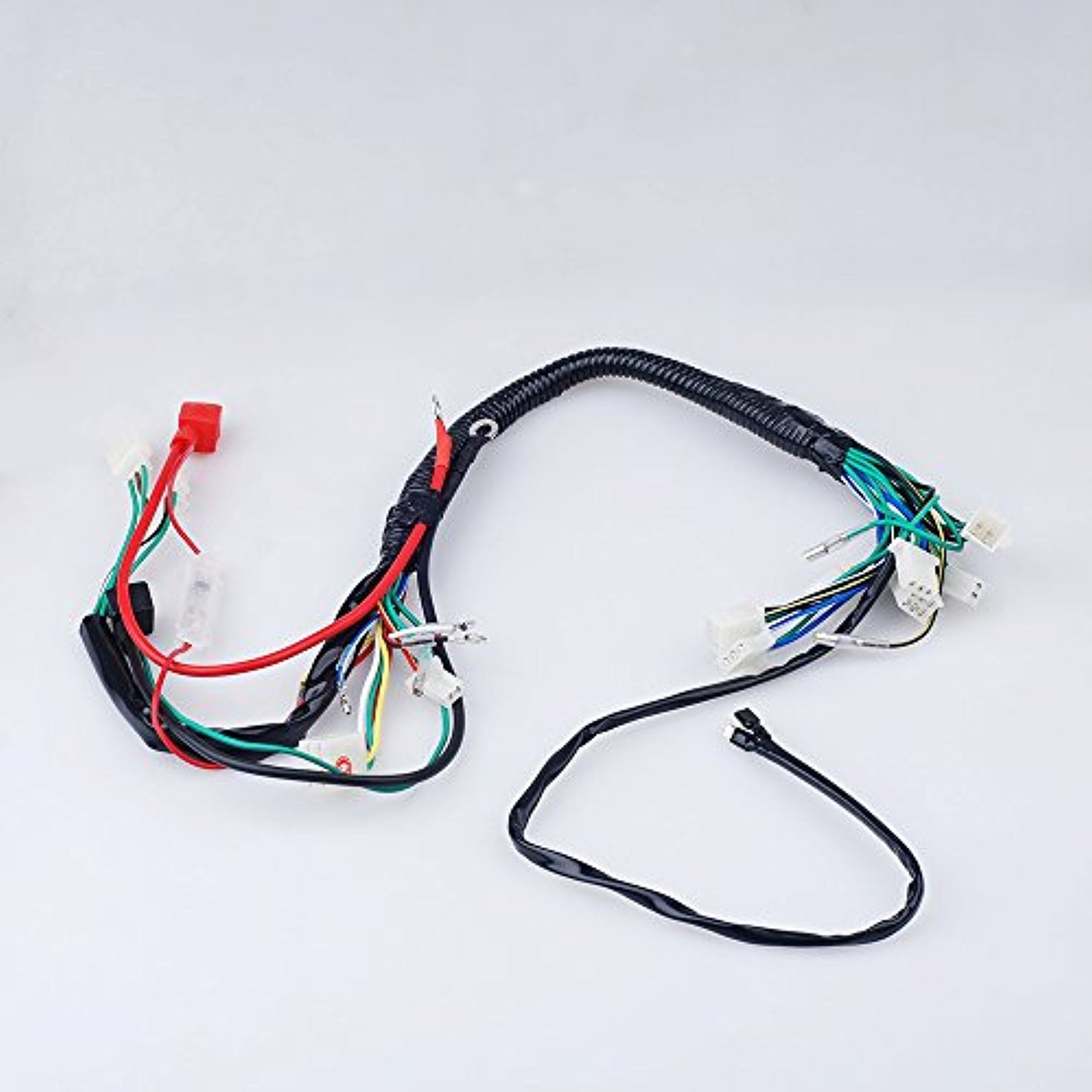 Electric Start Wiring Harness Wire Loom Pit Bike Atv Quads 50 110 Emission 125cc Go Kart Awesome Products Selected By Anna Churchill