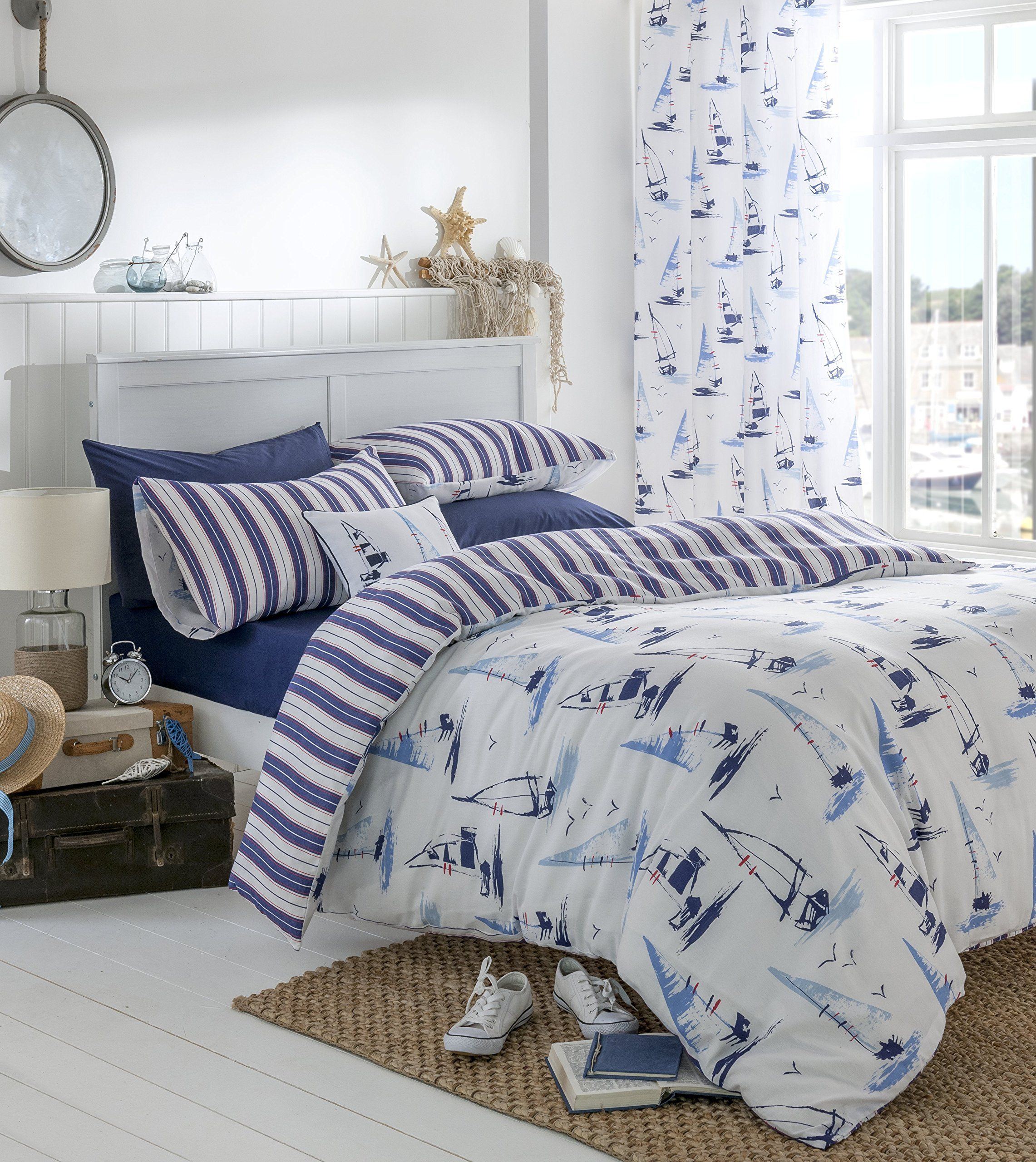sets beach bright style bag tropical cover sheets comforter duvet blue size bedding of bedspreads doona a quilts navy nautical coastal in quilt covers king themed bed full