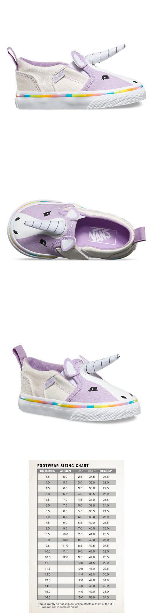 Baby Shoes 147285  New Vans Asher V Unicorn Toddler Girls Limited Edition  Slip-On 33d85e5e2