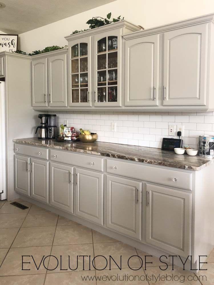Grey Kitchen Cabinets Sherwin