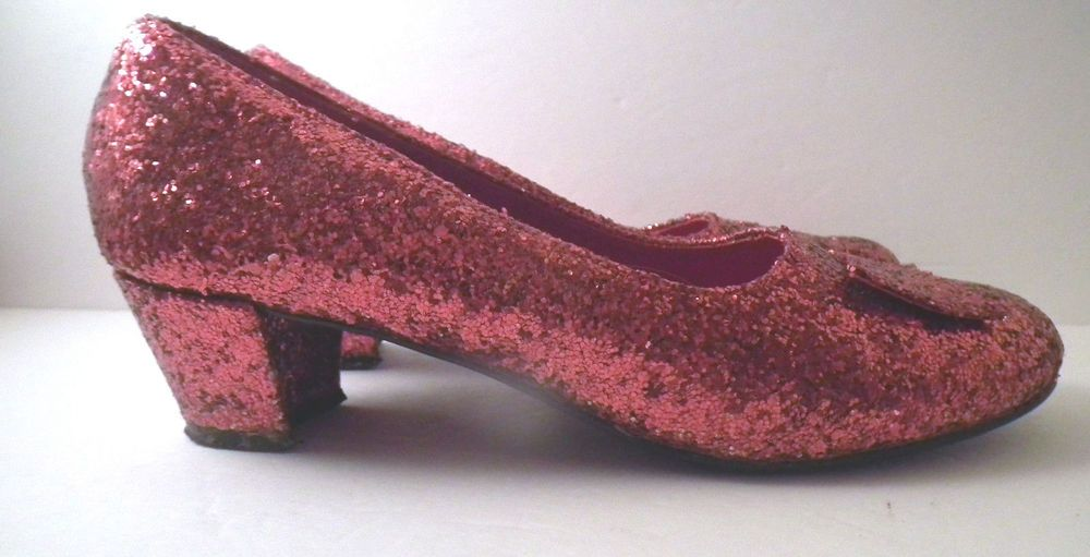 3ccecf72854 Funtasma Ruby Slippers Shoes Dorothy Wizard of Oz No Plac ...