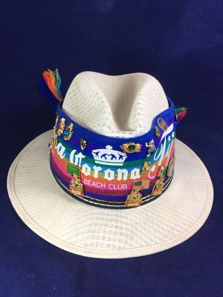 c22fa4547fe Mens Straw Sun Hat Corona Beach Club Size 7 1 8  fashion  clothing  shoes   accessories  mensaccessories  hats (ebay link)