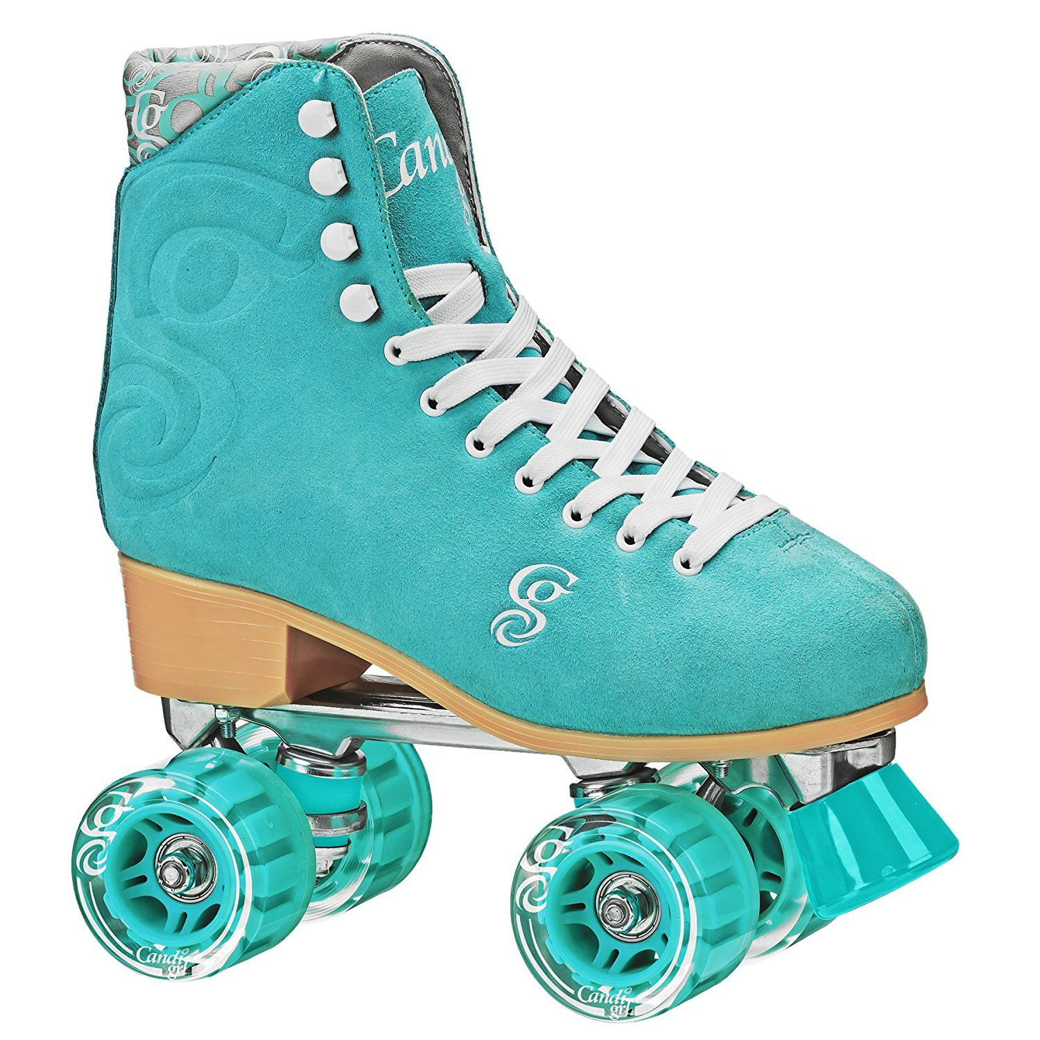Quad roller skates amazon - Amazon Com Roller Derby Candi Girl Women Colorful Roller Skates Sports Outdoors