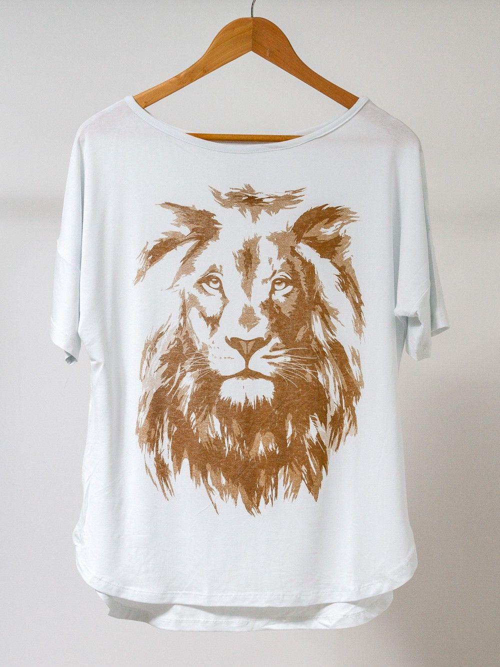 7cd58a73c9 Blusa Leão de Judá Camisa De Leão