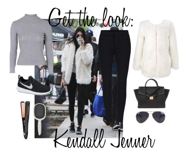 """Kendall Jenner"" by zelize-yo ❤ liked on Polyvore featuring Topshop, NIKE, NLY Accessories, Forever 21, Earth Therapeutics, women's clothing, women, female, woman and misses"