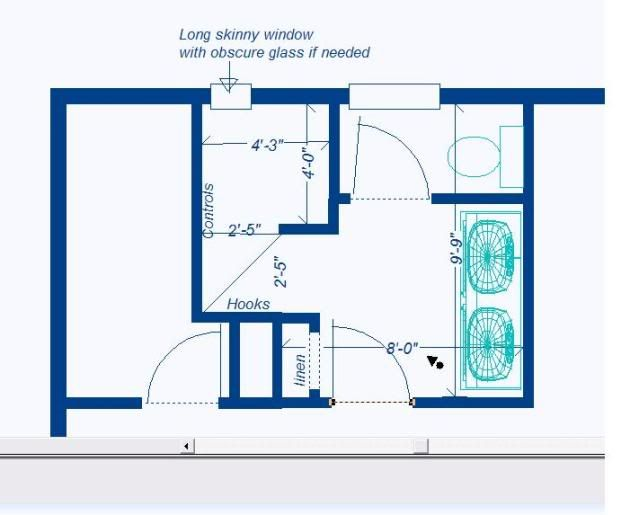 walk in shower layout - Google Search | small bath plans ...