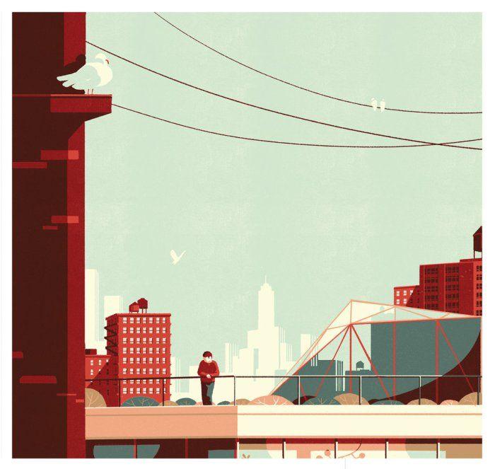 Tom Haugomatis a creative illustrator and artist. Here is a brief look on his illustrative portfolio.