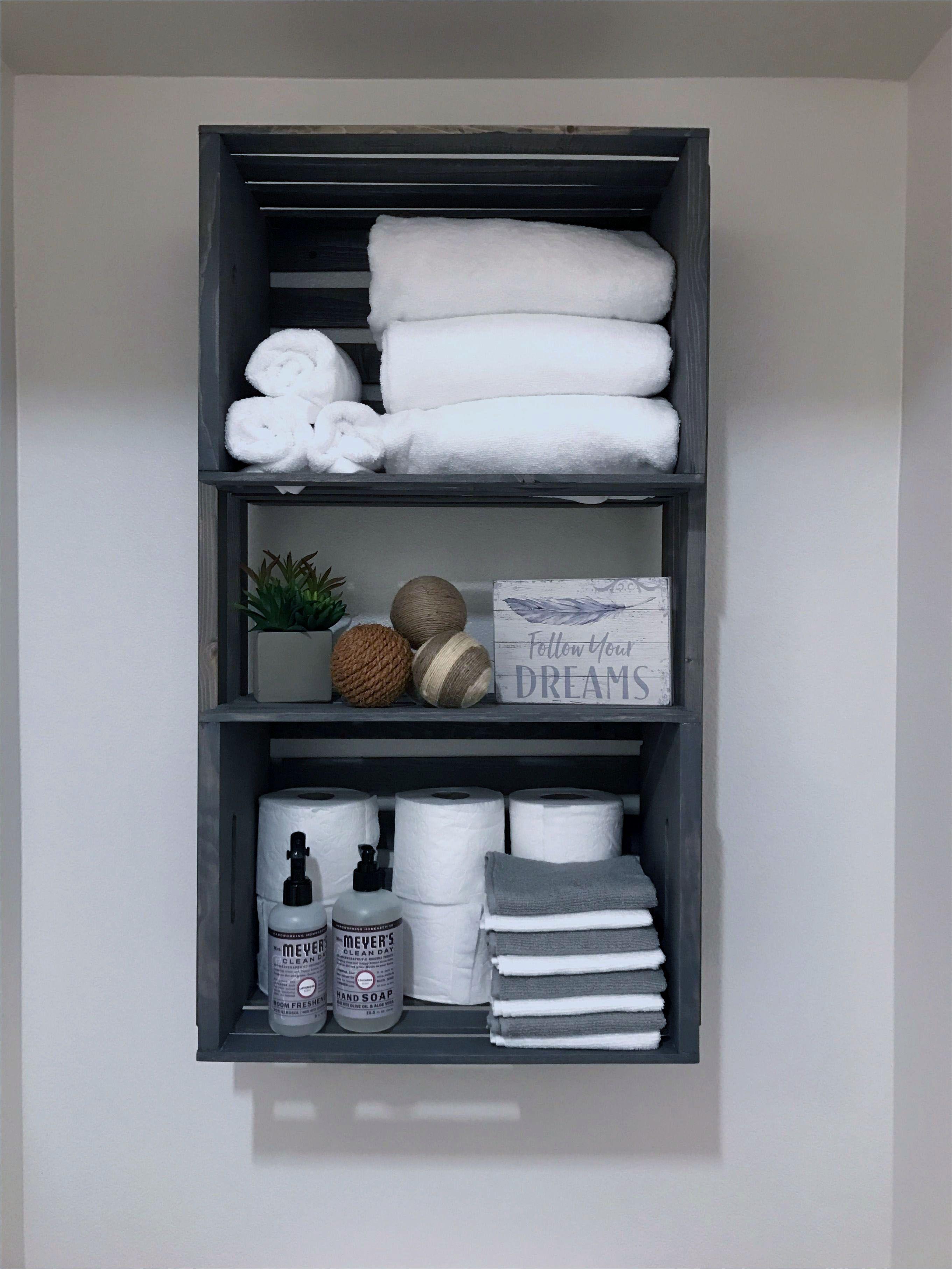 Bathroom storage that will help you keep
