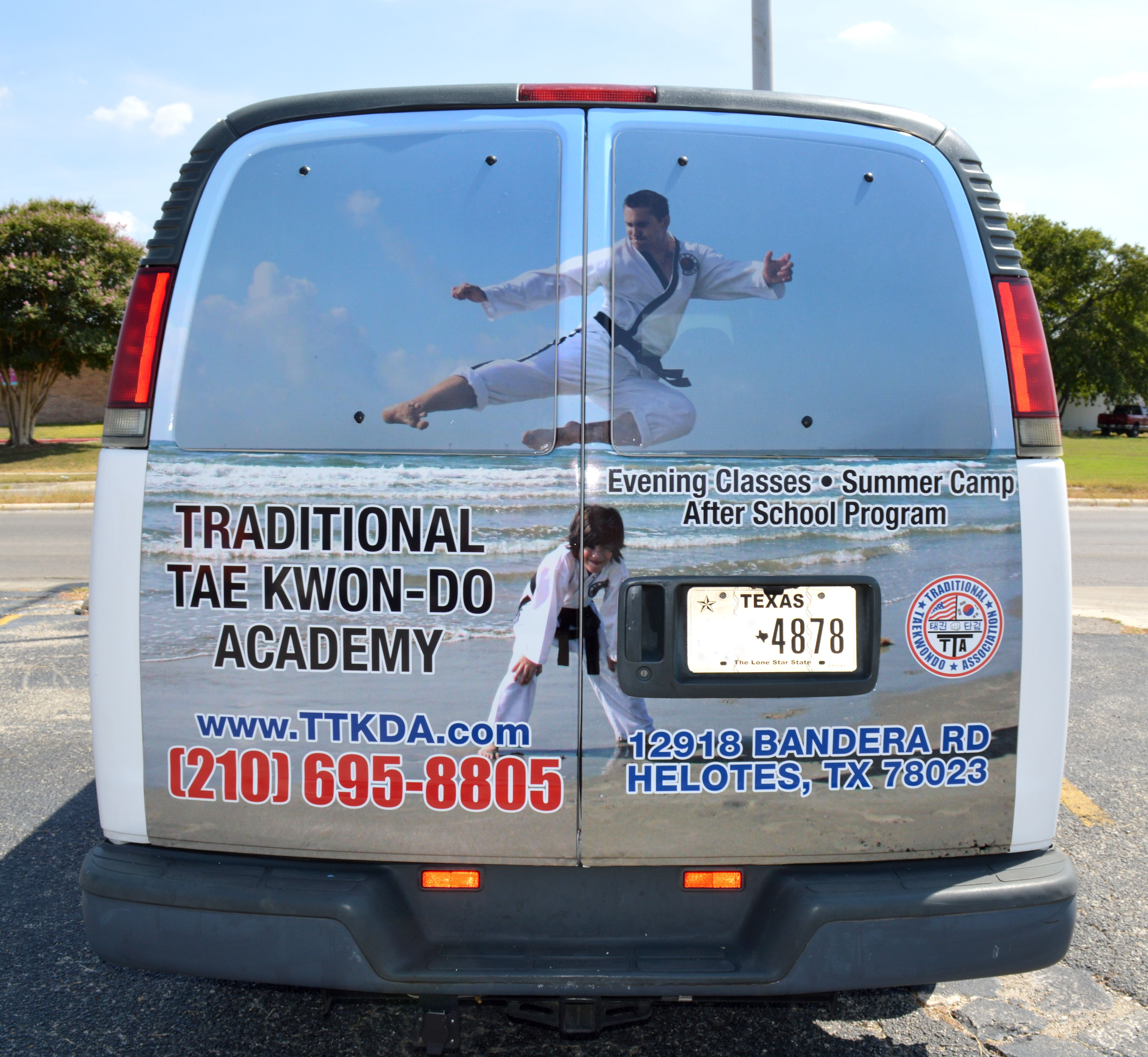 Custom partial vehicle wrap by Big Star Branding we have