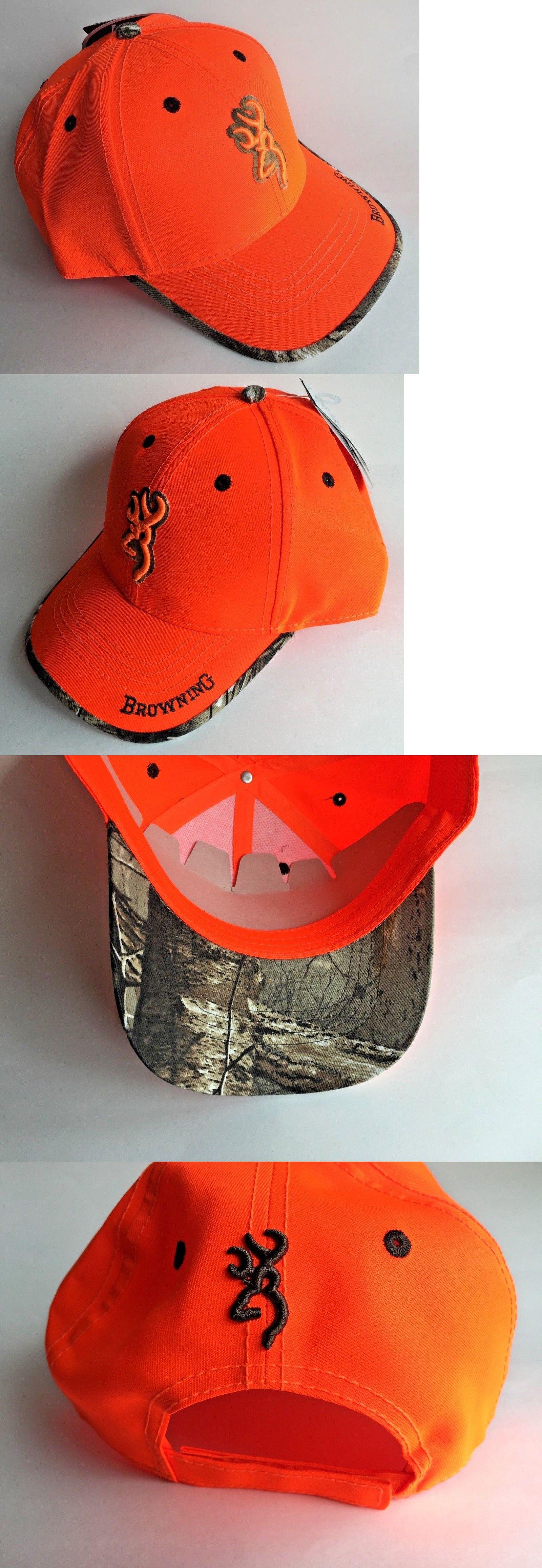 ... czech uk browning hunting hat new baseball cap sure shot blaze orange  308380011 rtx 3de78 60bf3 ee619476934a