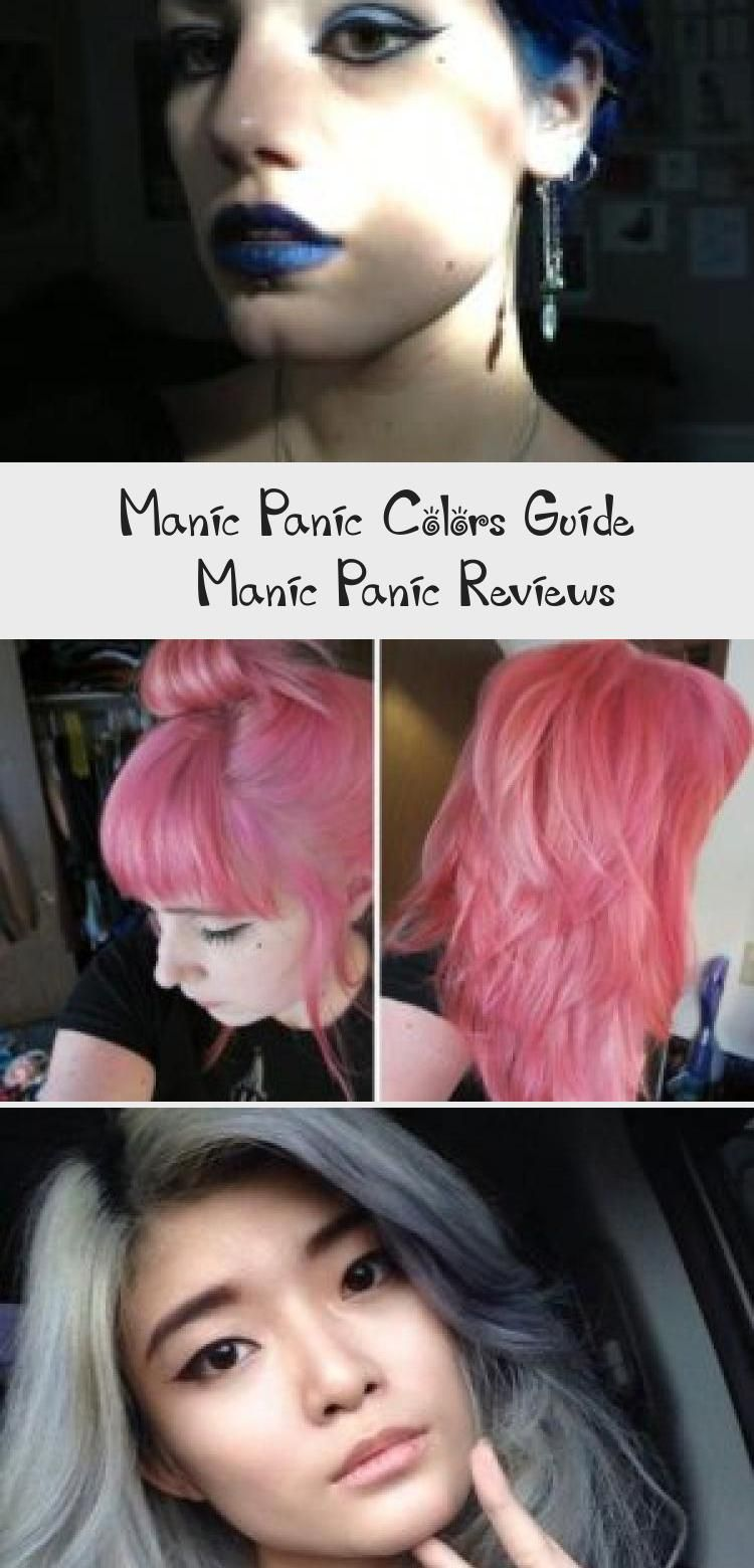 Manic Panic Colors Guide Manicpanic Colors Hairdye Guide Subtledyedhair Dyedhairgray Dyedhairends Dy In 2020 Manic Panic Hair Dye Dyed Hair Manic Panic Reviews