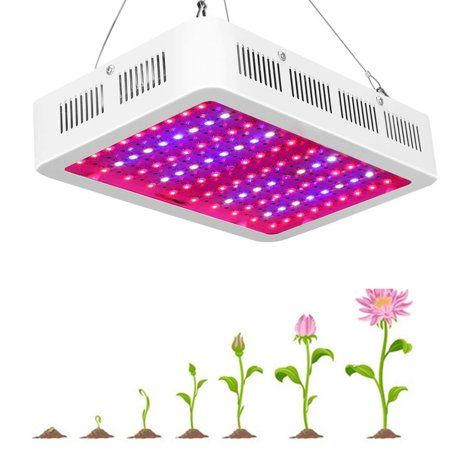 Led Grow Light 1000w With Adjustable Rope Hanger Full
