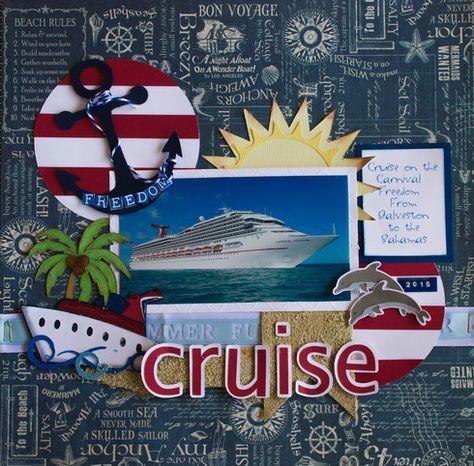 cruise gallery a cherry on top scrapbook pinterest reisealbum sommer diy und fotobuch. Black Bedroom Furniture Sets. Home Design Ideas