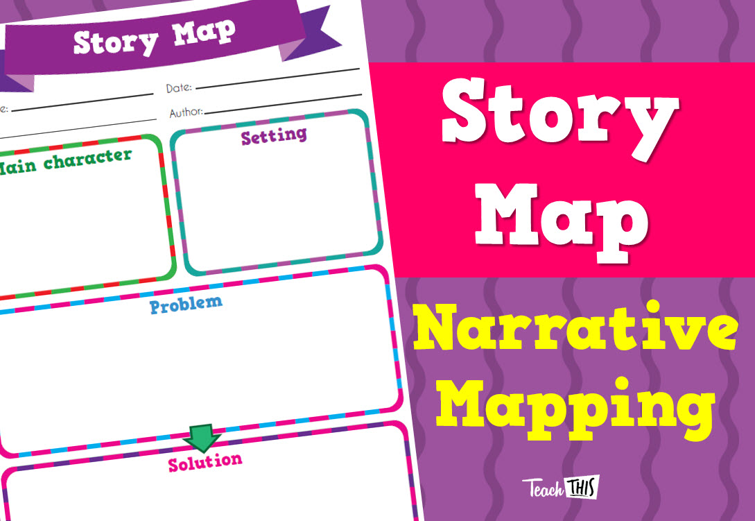 Story Map Narrative Mapping | Creating Literature | Pinterest ...