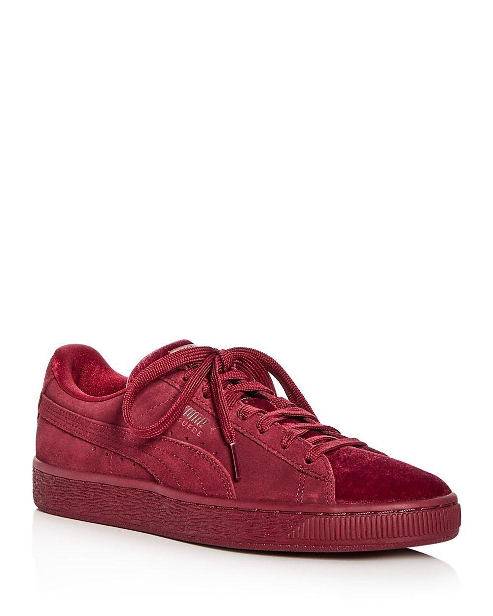 83d4e985c2cd PUMA PUMA Women s Classic Suede   Velvet Lace Up Sneakers.  puma  shoes